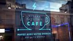 Nissan revoluciona la forma de utilizar energía a través del innovador Nissan Electric Café