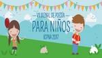 El ICPNA convoca la VII Bienal de Poesía para Niños