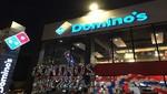 Domino's Pizza abre su segundo local y planea cerrar el año con más de 10 tiendas