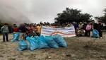 Más de 500 kilos de residuos sólidos son recolectados durante jornada de limpieza en Camino Inka del SH de Machupicchu