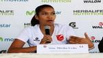 Mirtha Uribe habilitada para volver a jugar voley