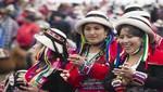 Cotabambas festeja la tradición de sus carnavales en el T'ikapallana 2017