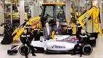 JCB presente en la Fórmula 1