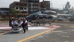Minsa y Policía Aérea activan puente aéreo para trasladar a pacientes por huaicos
