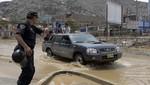 Más de 8 000 efectivos de la PNP trabajan en Lima para ayudar a damnificados por inundaciones
