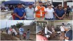 USIL hizo entrega de alimentos para damnificados de huaicos en Huachipa