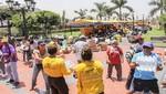 Parque de la Muralla se convierte en principal centro de acopio y selección de donaciones de la MML durante emergencia