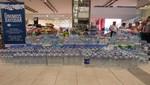 C. C. Jockey Plaza entregará un primer lote de 2,000 litros de agua a damnificados por los huaicos