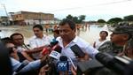 Ejecutivo adopta medidas para evitar más daños por nueva crecida de río Piura