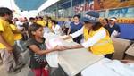 Municipalidad de Lima lleva juguetes y un show infantil a niños de Carapongo