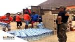 Softnyx entregó donaciones a familias damnificadas por huaicos y lluvias