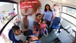 Universidad César Vallejo atiende a damnificados por huaicos con Bus de la Salud