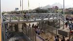 Protransporte instala escalera de conexión para facilitar tránsito de usuarios en la Estación Naranjal