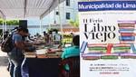 2da Edición de la Feria del Libro Viejo se realizará hasta 23 de abril en el Cercado de Lima