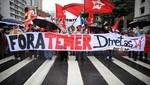 Brasil: Manifestantes piden la renuncia de Temer