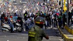 Venezuela: un hombre fue quemado durante protestas contra el gobierno