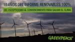 Greenpeace recuerda al Gobierno español que el mayor reto medioambiental es el cambio climático