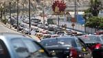 Movimiento de vehículos a nivel nacional aumentó en 0,8%
