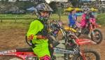 Gianna Velarde consigue importante título en Campeonato de Motocross de Ecuador