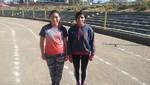 Evelyn Inga y Leyde Guerra listas para el Panamericano Juvenil de Atletismo