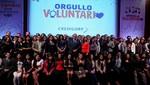 Se otorgaron capital semilla de S/ 7000 para cada uno de proyectos sociales ganadores del concurso 'Ideas Voluntarias'