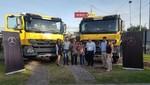 Divemotor entrega camiones Mercedes-Benz a la empresa Valdioban