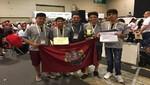 Miembros del Club de Robótica de la UCSP ganaron el reto Super Team en el Robocup 2017