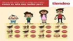 Los peruanos invertirán una media de 230 soles en regalos para el Día del Niño