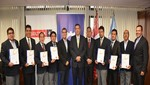 Instructores de mecánica de mantenimiento de Senati reciben importante certificación bajo estándares internacionales