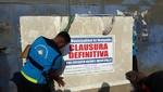 Municipalidad de Ventanilla cierra empresa que trabajaba con plomo y continuaba operando de forma clandestina