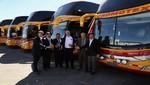 Divemotor entrega flota de 10 buses Mercedes-Benz a empresa de transportes Cromotex