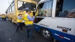 MML: A la fecha más de 30 empresas de transporte fueron suspendidas por ocasionar accidentes