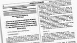 Gobierno a través del Decreto de Urgencia N° 011-2017 concreta los beneficios y mejoras para nuestros docentes