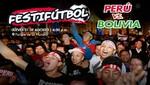 'Festi-fútbol': Hinchas podrán ver el Perú vs. Bolivia en pantalla gigante en el Centro de Lima