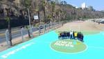 Miraflores inaugura nuevas losas deportivas con ex seleccionados de fútbol juvenil