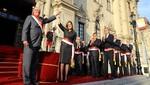 Jefe de Estado tomó juramento a los miembros de su Gabinete Ministerial