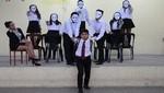Escolares de Villa El Salvador se expresan sobre el embarazo adolescente mediante el teatro