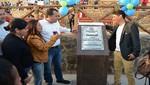 Alcalde Omar Marcos inauguró dos nuevas obras en Villa Los Reyes y Pachacútec