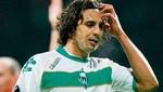 Werder Bremen con Claudio Pizarro en el campo empató ante el Kaiserslautern