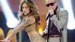 Pitbull sufrió erección cuando Jennifer López le bailaba en los AMA's