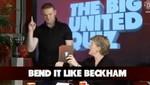Mira a Wayne Rooney imitando a David Beckham (Video)