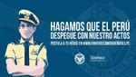 Fuerza Aérea del Perú y Telefónica presentan tercer concurso de valores 'Un Héroe Como Quiñones'