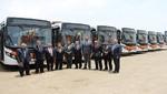 Divemotor entrega flota de 30 buses Mercedes-Benz a empresa de Transportes y Servicios Salvador