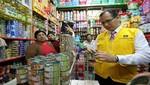 MML fiscaliza que en el Mercado Central y alrededores no se vendan conservas contaminadas importadas de la china