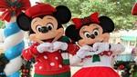 Mickey y Minnie Mouse envuelven La Rambla con la magia de la Navidad