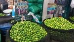 Precio del limón bajó y se vende a partir de s/. 1.00 kilo en el Gran Mercado Mayorista de Lima