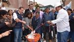 Más de 20 mil vecinos de Lampa de Oro I Y II se benefician con nuevas pistas y veredas