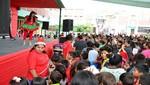 Más de 20 mil niños festejaron con alegría la navidad en Ventanilla