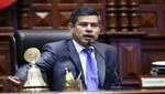 Presidente del congreso Luis Galarreta precisa inexactitudes