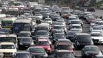 Tránsito de vehículos a nivel nacional creció en 2,6%